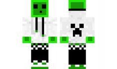 minecraft skin slime BOY