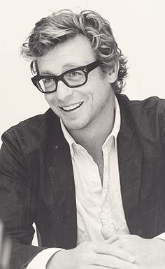 I have this picture. He is always so stunning. I love those glasses on him. =)