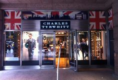 Charles Tyrwhitt's third New York store.