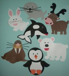 Arctic Animal Crafts by First Grade Frenzy a Blog for Teachers