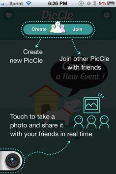 PicCle help screen