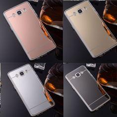 Slim Thin Soft Silicone Mirror Back TPU Gel Case Cover For Samsung Galaxy Phone #UnbrandedGeneric