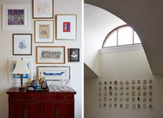 gallery wall....Andrew Howard Interior Design » L'Art de Vivre