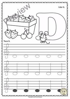 Piano Instruction A set of 26 music worksheets {Spring themed} is created to help your students learn to trace, copy, color and draw notes on the staff {Treble pitch}. {C first – A second octaves}. Learning Music Notes, Music Math, Music Classroom, Music Education, Music Lessons For Kids, Music For Kids, Piano Lessons, Piano Songs For Beginners, Music Theory Worksheets
