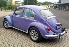 1968' VW Beetle 1500   Just like the one i had but mine was original and did not have mags