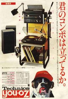 technics dog ad. http://www.pinterest.com/TheHitman14/phonograph-kitsch/