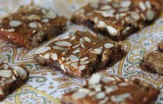 Protein Banana Bread Breakfast Bars