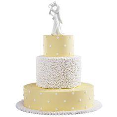 Ruffled in Romance Cake