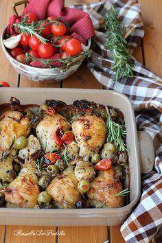 Pollo al forno alla siciliana