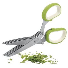 Herb Scissors-Cut/Chop/Mince Herbs Quickly and Easily  C10197 - Kitchen products, Home Décor, Apparel, Gardening and more | Country Store