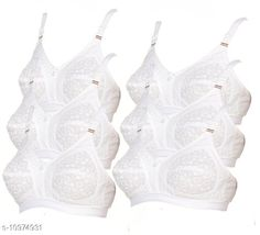Bra Womens Cotton Bra Fabric: Cotton Padding: Non Padded Wiring: Non Wired Seam Style: Seamed Add On: Hooks Sizes: 34B (Underbust Size: 30 in, Overbust Size: 36 in)  32B (Underbust Size: 28 in, Overbust Size: 34 in)  42B (Underbust Size: 38 in, Overbust Size: 44 in)  30B (Underbust Size: 26 in, Overbust Size: 32 in)  40B (Underbust Size: 36 in, Overbust Size: 42 in)  38B (Underbust Size: 34 in, Overbust Size: 40 in)  36B (Underbust Size: 32 in, Overbust Size: 38 in)  Country of Origin: India Sizes Available: 40B, 42B, 30B, 32B, 34B, 36B, 38B   Catalog Rating: ★4 (508)  Catalog Name: Sassy Women Bra CatalogID_2032872 C76-SC1041 Code: 394-10974931-7821