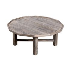 Classic but geometric, we're loving the casual elegance of the Dutch Dodecagon Coffee Table. With a 12-sided tabletop crafted from mango wood with a natural, smoky finish, this table is the ultimate li...  Find the Dutch Dodecagon Coffee Table, as seen in the Coffee Tables Collection at http://dotandbo.com/category/furniture/tables/coffee-tables?utm_source=pinterest&utm_medium=organic&db_sku=109818