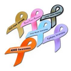 Social Awareness Ribbons
