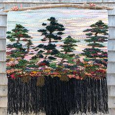 Allison Pinsent Baker (@shadbayweaving) • Instagram photos and videos Basket Weaving, Fiber Art, Shag Rug, Weird, Tapestry, Photo And Video, Abstract, Canvas, Videos