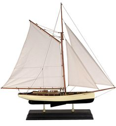 Yachts and Classic Large 1930s Yacht