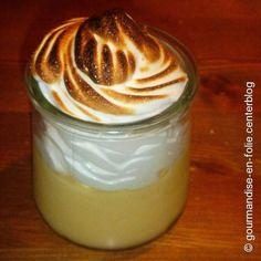 Verrine de limão com merengue