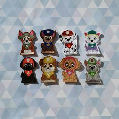 Paw patrol finger puppet set by CoastieKay on Etsy