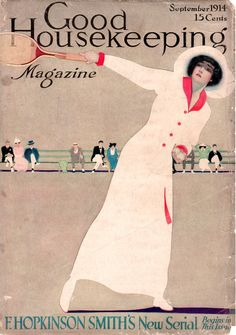 Coles Phillips - Good Housekeeping Magazine cover (September 1914)