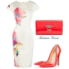 A fashion look from January 2015 featuring Christian Louboutin pumps and Christian Louboutin clutches. Browse and shop related looks.
