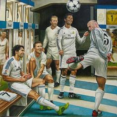 Jamie Cooper captures the essence of Real Madrid, showing past and modern day greats