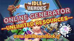 IDLE HEROES GLITCH - UNLIMITED GEMS (2017) - Working 100% - Android and IOS
