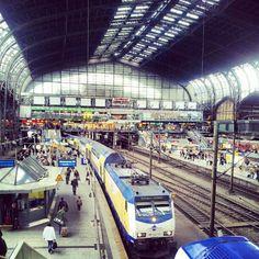 #Hamburg #Hauptbahnhof <3