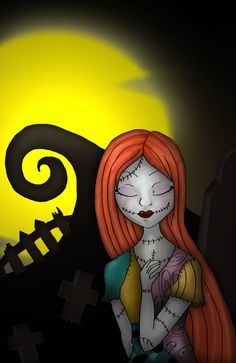 the nightmare before christmas characters sally -