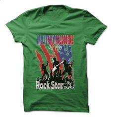 Military medicine Rock... Rock Time ... Cool Job Shirt  - #grey tee #chunky sweater. BUY NOW => https://www.sunfrog.com/Jobs/Military-medicine-Rock-Rock-Time-Cool-Job-Shirt-.html?68278