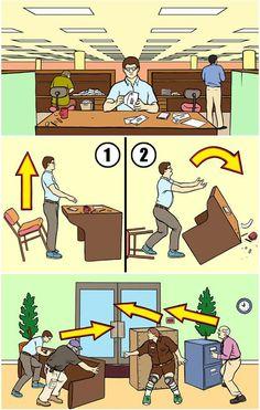 Comment foutre le bordel au bureau même quand on n'est pas vendredi