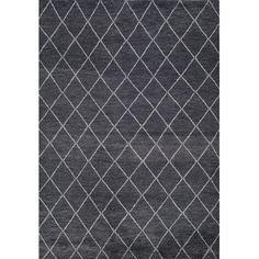 Momeni Atlas Hand-Knotted Charcoal Area Rug Rug Size:
