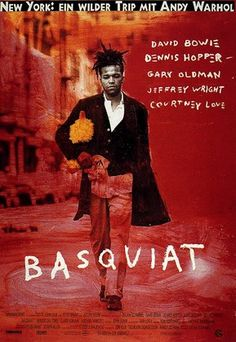 "Basquiat-""hey Benny let's go to Ireland, we can stop in every bar and have a drink."""