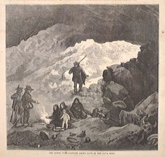 """""""The Modocs War--Captain Jack's Cave in the Lava Beds."""" June 28, 1873."""