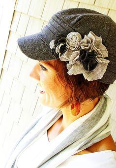 Emebellished Hat Tutorial...cute!