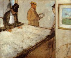 Edgar Degas - Cotton Merchants in New Orleans (1873)