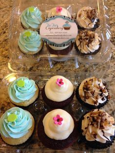 Variety Pack o Cupcakes Goodies, Cupcakes, Packing, Desserts, Food, Sweet Like Candy, Bag Packaging, Tailgate Desserts, Gummi Candy