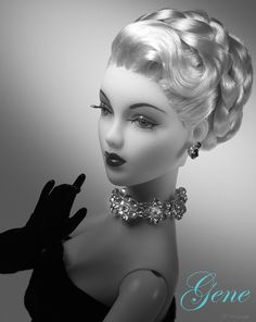 JAMIEshow Gene Marshall  ~ wig my Ilaria ~ Image and styling by Tom Logan ~ The Glass of Fashion/kw