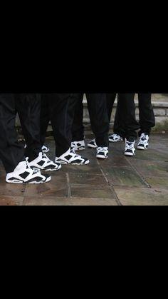Groomsmen with Jordans