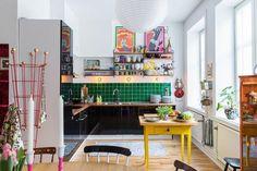 Casinha colorida: Especial cozinhas 2016: as com cores e alegres