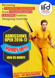 IIFD Is The Best Fashion Designing Institute In Chandigarh Providing 100 Job Oriented Courses For Admission Proc