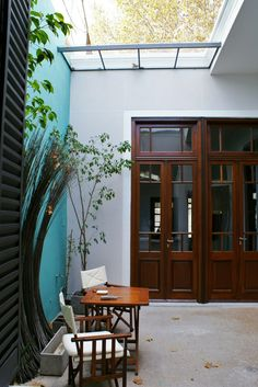 Home, Small Courtyards, Outdoor Decor, Remodel, House, Interior Garden, Exterior, Deco, Patio Interior