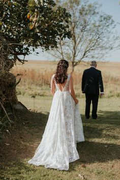 first look feels for destination wedding at tala game reserve