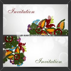 Get Beautiful Floral Decorated Invitation Card For Wedding And Other Ceremony royalty-free stock image and other vectors, photos, and illustrations with your Storyblocksmembership. Invitation Cards, Invitations, Floral, Illustration, Wedding, Beautiful, Image, Florals, Valentines Day Weddings