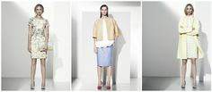 Spring / summer at Marks & Spencer - love these cool tones and white-on-white