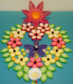 Several great tutorials on Quilling