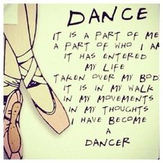 I have become a dancer! :)