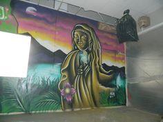 BUDA GRAFFITY MURAL A.C.V  .  BY --->BYKPYK