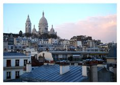 Sunrise over Montmartre  Paris photography by SonjaCaldwell, $11.00