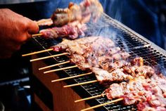 Japanese Konro Grill From £240 Gas And Charcoal Grill, Portable Charcoal Grill, Korean Bbq Grill, Barbecue Grill, Konro Grill, Hibachi Bbq, Japanese Hibachi, Bacon Crisps, Stainless Steel Bbq Grill