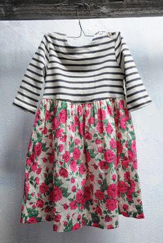 BAKER ISLAND DRESS - LIBERTY ROSE PRINT