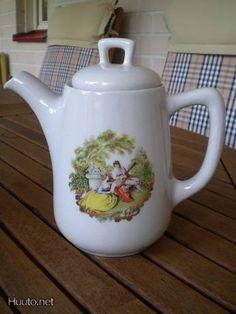 Marimekko, Teapot, Finland, Ale, Pots, Porcelain, Dishes, Retro, Tableware